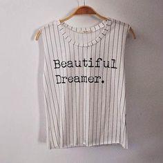 Beautiful Dreamer Striped Tank Top