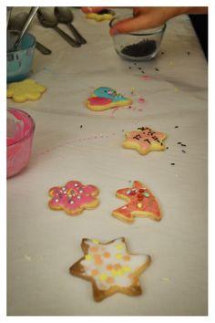 Biscotti fatti dai bambini...