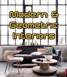 [BLOG] How to decorate and style your home using modern and geometric shapes! #tips #interiors #geometric #modern #contemporary