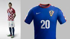 Conozca las camisetas del Mundial Brasil 2014     CROACIA