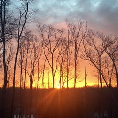 Stratham, New Hampshire sunrise....  great way to start your day.   By ARD