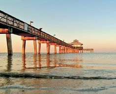 The Fort Myers Beach Pier, FMB Florida.