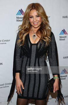 Singer Thalia attends the 5th Annual Dubin Breast Center At Mount Sinai Benefit at Mandarin Oriental Hotel on December 7, 2015 in New York City.