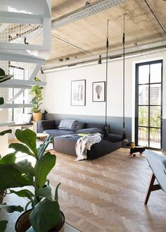 Zweeds interieur. I love it! Stoel is van IKEA. Storsele | For the ...