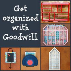 morena's corner: Get Organized with DIY Projects and Goodwill