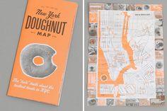 New York Donut Map