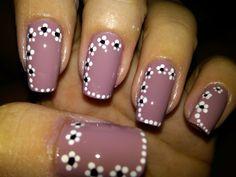 flower designs nails   Flower Nail Designs