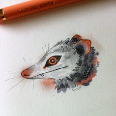 kitty by em. Art Sketches, Art Drawings, Character Art, Character Design, Sketchbook Inspiration, Pretty Art, Medium Art, Art Techniques, Aesthetic Art