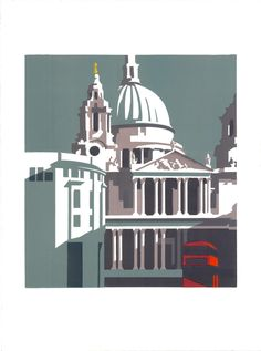 Paul Catherall   Routemaster at St Pauls   Printmakers