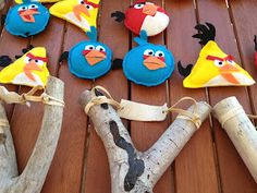How to make Angry Birds Slingshots. My kids would think I'm the coolest mom ever…