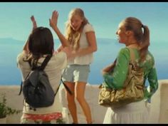 "▶ Mamma Mia ""Honey, Honey"" - Amanda Seyfried - YouTube (Filmed in Greece) One of my favorite films ❤️ such a classic and too cute!"
