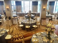 Fairmont Hotel, Vancouver, Table Settings, Reception, Flooring, Table Decorations, Room, Wedding, Furniture