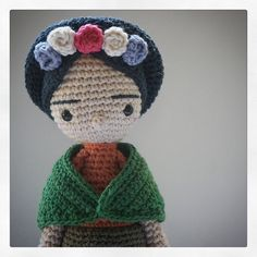 Frida, crochet                                                                                                                                                      Mais