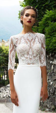 Milla Nova Wedding Dresses Collection 2017 ❤ See more: http://www.weddingforward.com/milla-nova-wedding-dresses-2017/ #weddings