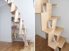 Stairs-Nc2Arch-Loft-5 ... very intelligent space-saving staircase. NBNB
