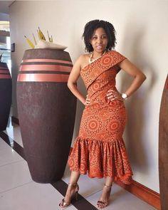 New Shweshwe seshoeshoe productions 2018 - Reny styles African Fashion Designers, African Inspired Fashion, African Dresses For Women, African Print Dresses, African Print Fashion, African Attire, African Wear, African Fashion Dresses, African Women