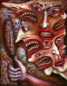 Robert Steven Connett. That's why I hate mirrors