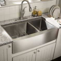 "You'll love the 31"" x 17.09"" Undermount Single Bowl Granite Kitchen Sink at Wayfair - Great Deals on all Home Improvement  products with Free Shipping on most stuff, even the big stuff."