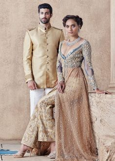 "Faraz Manan's ""Viceroy"" Pakistani Couture A/W 16"
