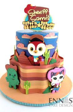Sheriff Callie's Wild West Cake