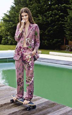printed blazer set | rollickthelabel.com.au inspiration