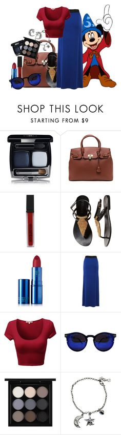 """""""Summer time - Mickey Mouse [Fantasia]"""" by alexxhutcherson ❤ liked on Polyvore featuring Smashbox, Lipstick Queen, MAC Cosmetics, Chanel and Journee Collection"""