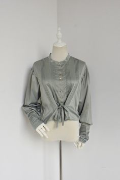 +Versailles Traveler+  Retro Edwardian Era Style Blouse 032