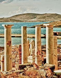 Cleopatras House, Delos, Greece *