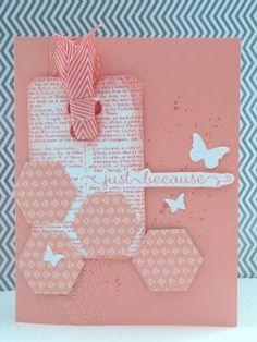 Marits blog: Stampin' Up! Crisp Cantaloupe, Dictionairy, beautifull wings embosslits