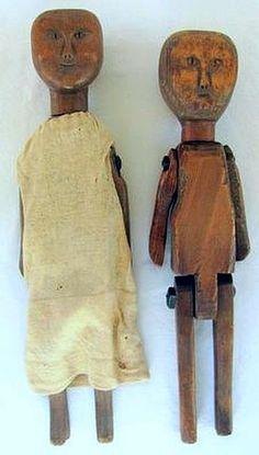 Anonymous Works: 19th Century Southern Folk Art Dolls