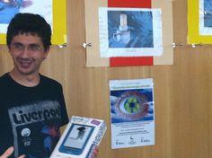 Acto de entrega del premio al ganador del concurso, Ricardo Hernández Arrondo.