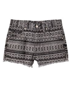 Cute jean shorts, $99 at Atruim, NYC