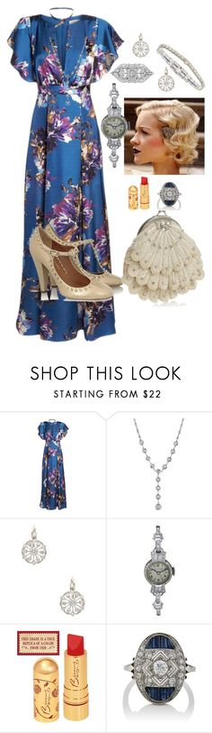 """""""Untitled #185"""" by tanya-gosnell-brewer ❤ liked on Polyvore featuring Ali & Jay, 1928, Gatsby and Bulova"""