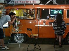 thai coffee bus