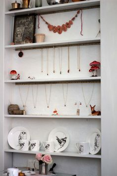 668 best jewellery display wall shelves images display wall wall rh pinterest com  jewelry display shelf