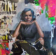 "Saatchi+Online+Artist+Pascale+Taurua;+Assemblage+/+Collage,+""SOLD""+#art"
