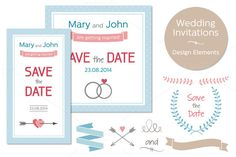 Wedding Invitations by Paper Cards on @creativemarket
