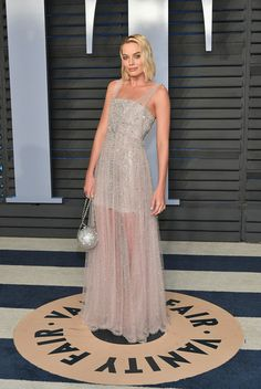 Margot Robbie in Chanel Couture - The Best Dressed At The 2018 Oscars After Parties - Photos