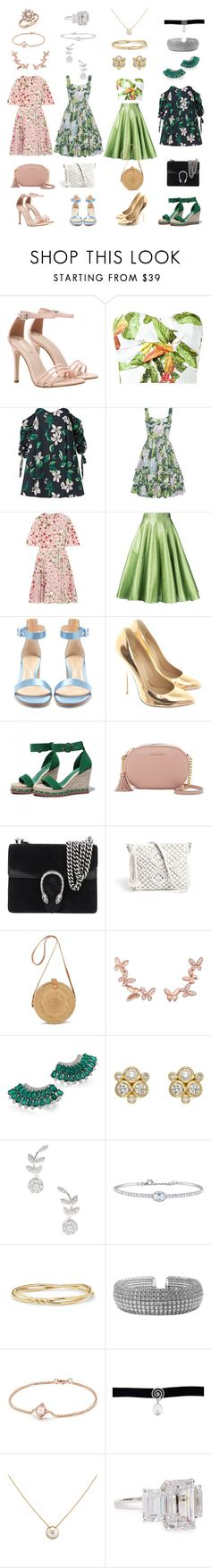 """Tell Me That You Love Me Too"" by kathrina1yana2jemma3cloe4 ❤ liked on Polyvore featuring Isolda, Caroline Constas, Peter Pilotto, Valentino, Bambah, Gianvito Rossi, Giuseppe Zanotti, MICHAEL Michael Kors, Gucci and Anyallerie"