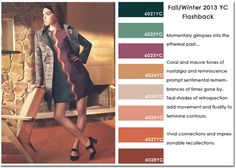2013/2014 Autumn/Winter trends. Color.