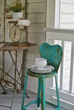 Chateau Chic: Vintage Finds for the Screen Porch