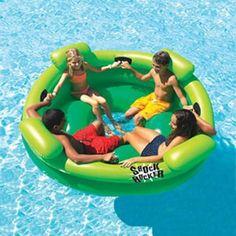 Splashnet Xpress Shock Rocker Inflatable Island