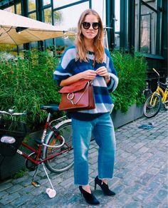 Blue everything in Stockholm - TRINE'S WARDROBE