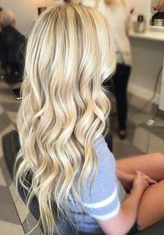 30 New Beautiful Blonde Hair Color - Long Hairstyles 2015