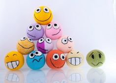 Original crochet smiles set of any THREE smiles от Crochetpositive, $24.00