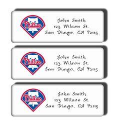 Philadelphia Phillies Labels