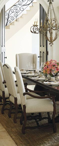 48 Best DINING ROOM Images On Pinterest In 48 Dining Rooms Adorable Dining Room Table Settings Exterior