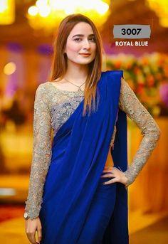 Bollywood Saree Party new Ethnic Wedding Indian Pakistani Designer silk sari #Handmade #saree