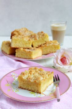 Saftiger Streuselkuchen (Food with Love – Thermomix Rezepte mit Herz) Cornbread, Vanilla Cake, Cake Recipes, French Toast, Cheesecake, Food And Drink, Breakfast, Ethnic Recipes, Desserts