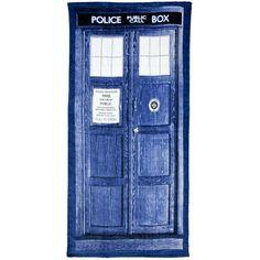 Doctor Who - Tardis Towel